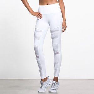 Alo Yoga Motto Leggings White M